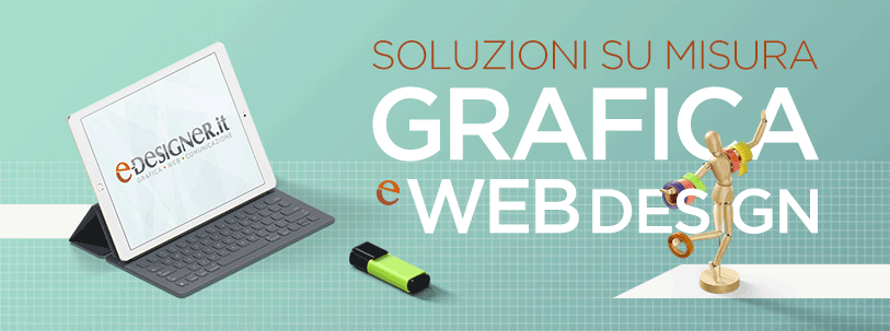 grafica e siti web a roma e-designer