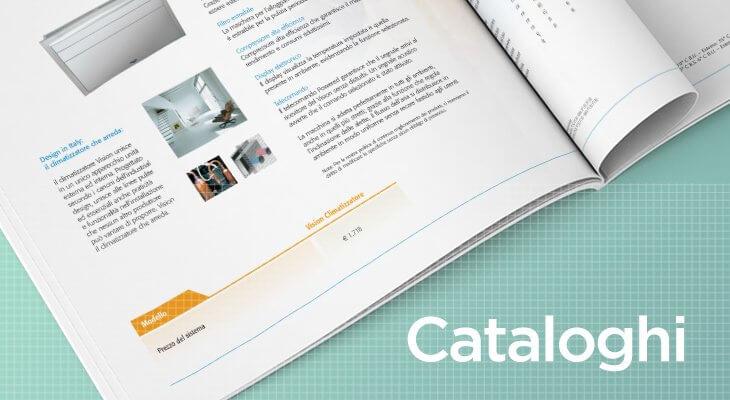 realizzazione catalogo