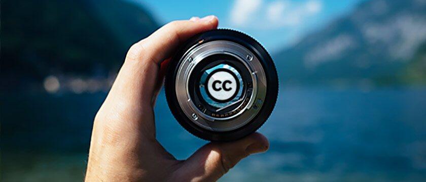 utilizzo delle immagini creative commons